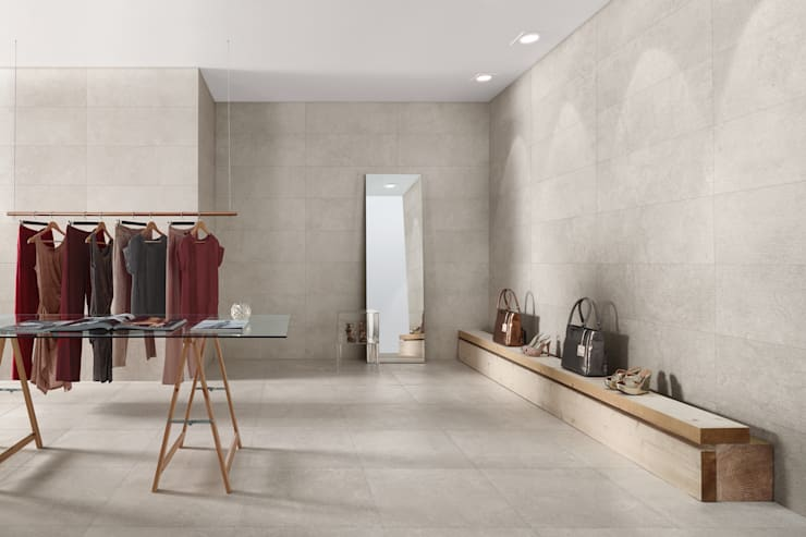 Napoli Simple Wall, Floor & Textured Tiles :  Walls & flooring by The London Tile Co.
