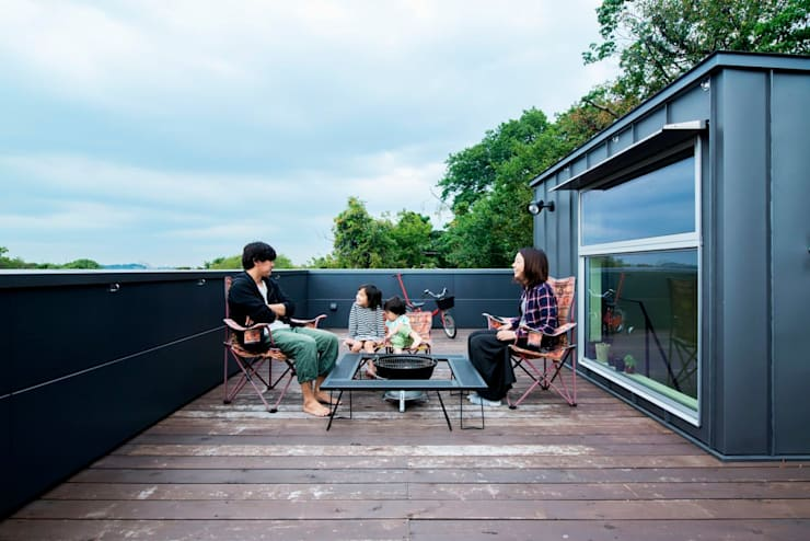 庭院 by HAN環境・建築設計事務所
