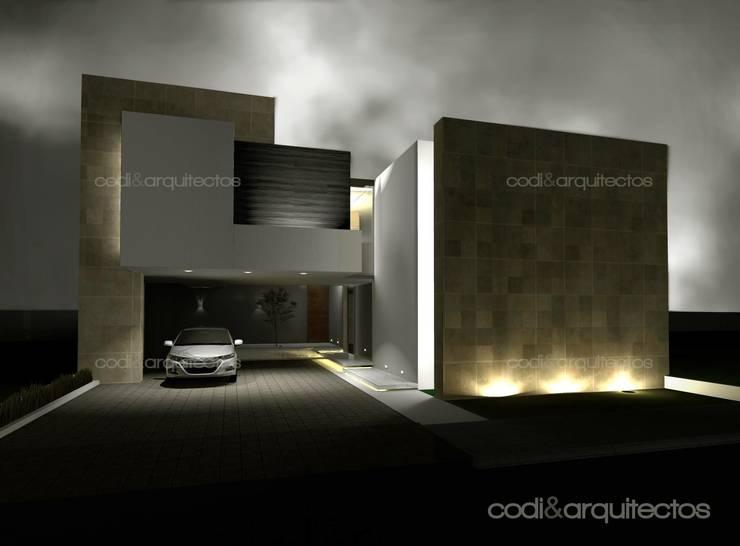 CASA J.JULIA: Casas de estilo  por codi&arquitectos