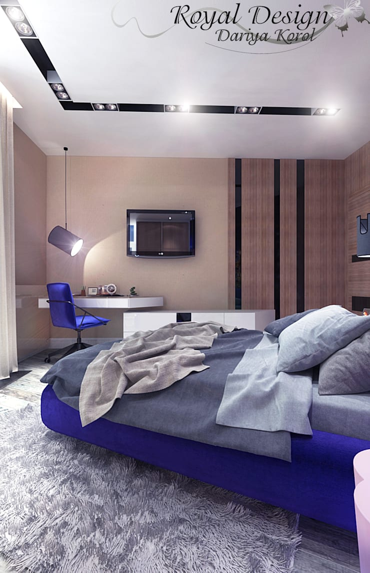 Детская комната для подростка: Детские комнаты в . Автор – Your royal design,