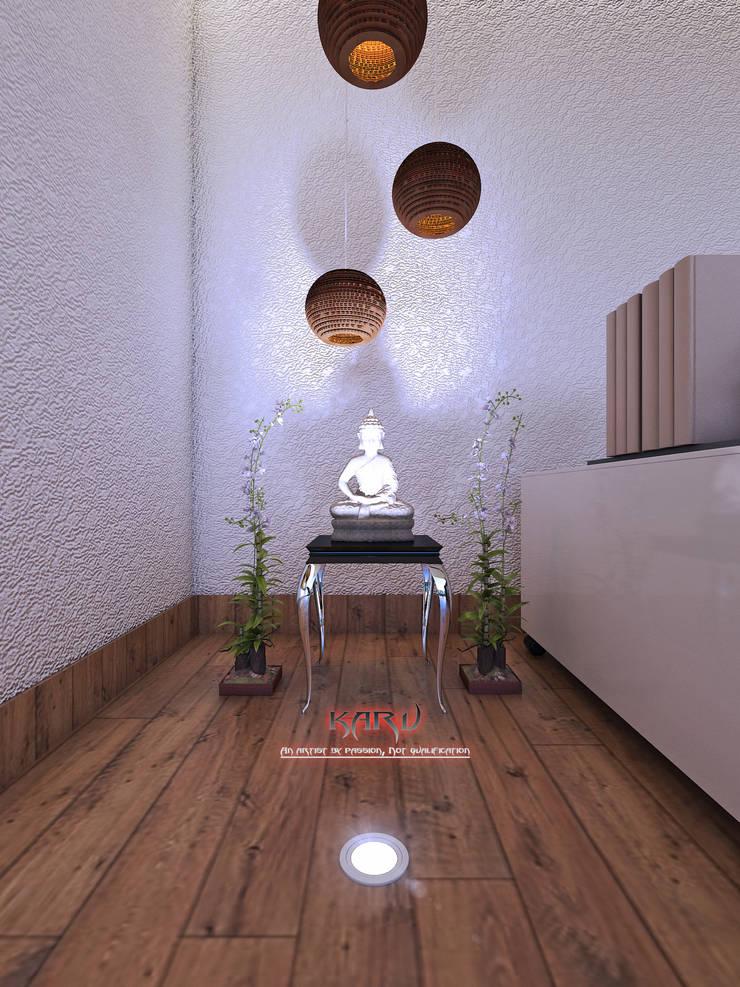 office interior:  Study/office by KARU AN ARTIST