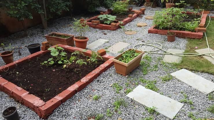 Jardines de estilo  por Cherry Garden and Landscapers