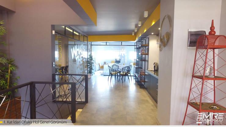 Emre Urasoğlu İç Mimarlık Tasarım Ltd.Şti. – İdari ofisler Alanı:  tarz Çalışma Odası, Modern Ahşap-Plastik Kompozit