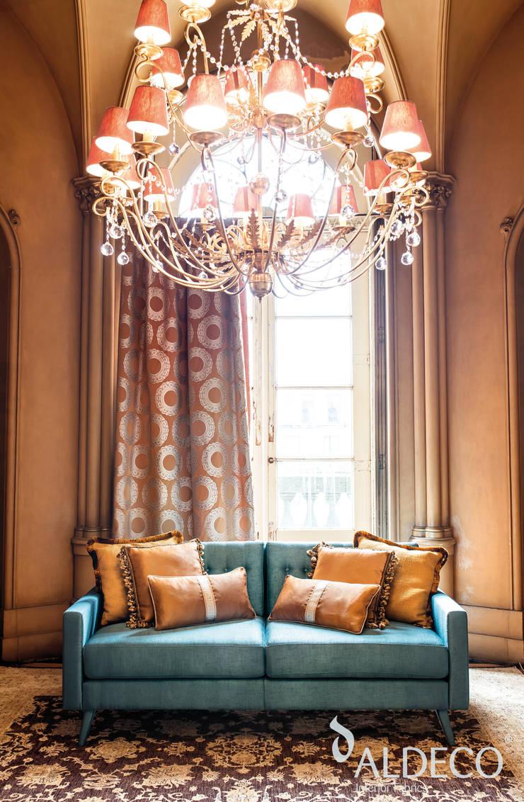 Mystic & Chic collection 2016: Casa  por Aldeco, Interior Fabrics
