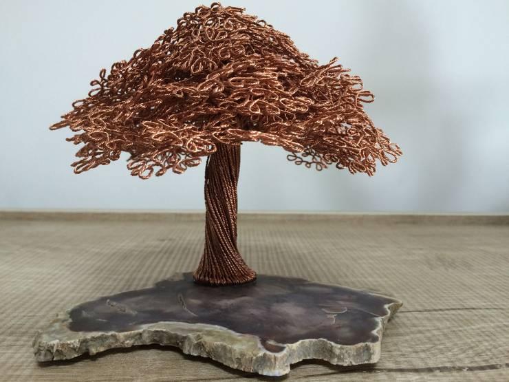 SEBU – Ağaç Fosilli SEBU:  tarz İç Dekorasyon