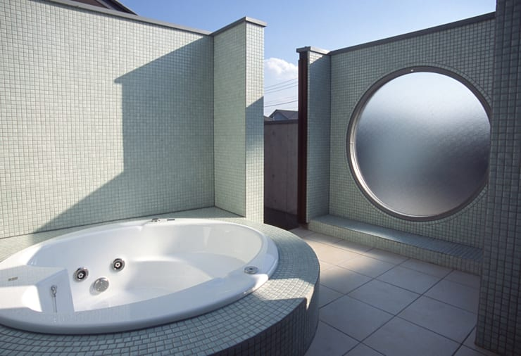 ジャグジー: (株)独楽蔵 KOMAGURAが手掛けた浴室です。