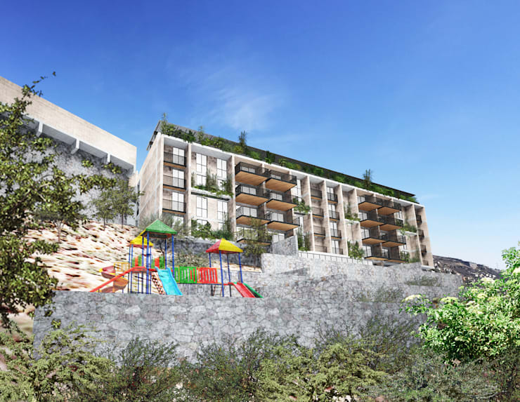 Calandrias Residencial:  de estilo  por Studio de Arquitectura y Ciudad