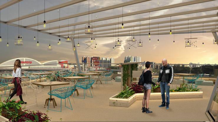 Rustica Market: Restaurantes de estilo  por NOGARQ C.A.