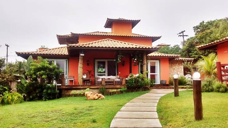 庭院 by Aroeira Arquitetura