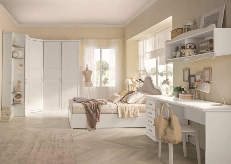 Bedroom تنفيذ La cameretta + le matrimoniali