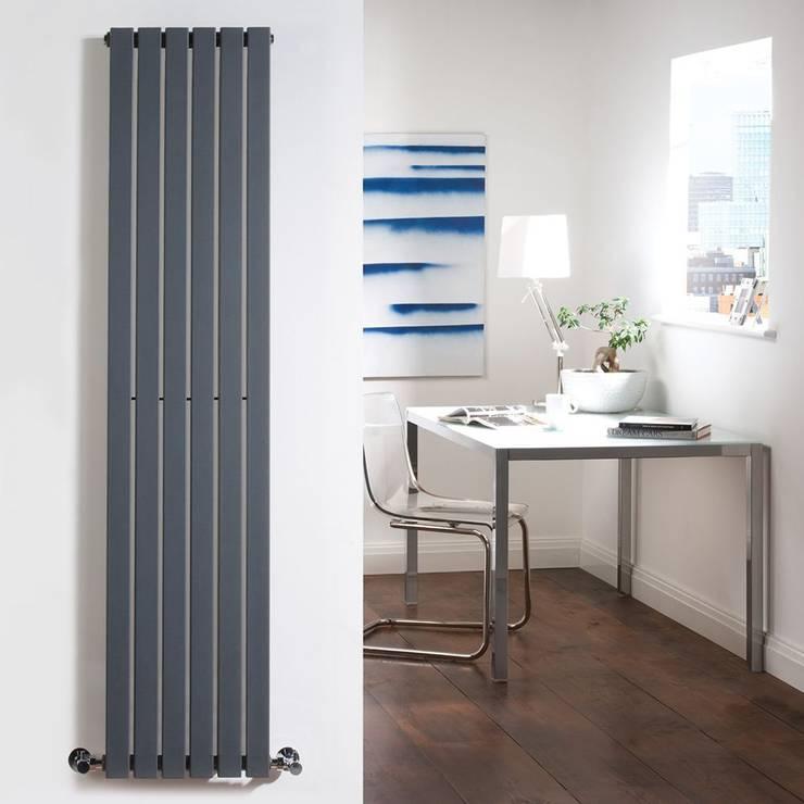 Milano Capri Design Heizkörper in Anthrazit 996 Watt:  Flur & Diele von BestHeating Deutschland