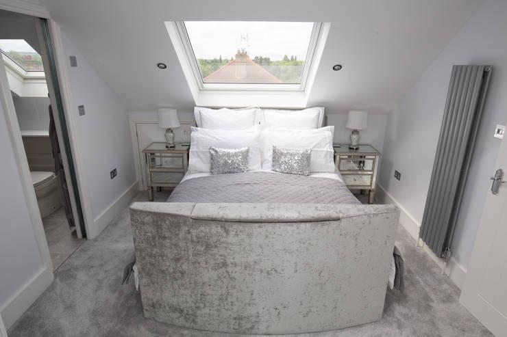 Projekty,  Sypialnia zaprojektowane przez The Market Design & Build