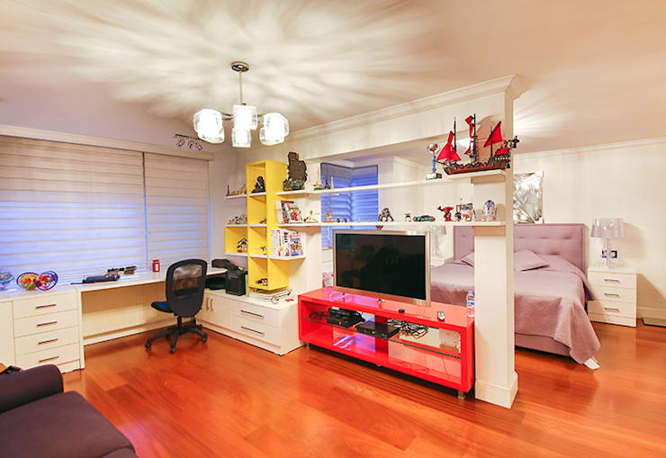 ArcorA Custom Made Furniture – F.Turhan Evi:  tarz Ev İçi
