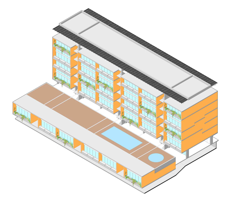 CDL:  de estilo  por Studio de Arquitectura y Ciudad