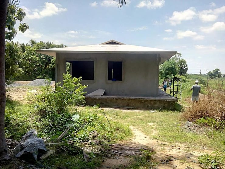 Casas de estilo  por Urban Shaastra