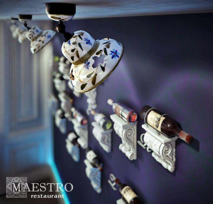 """Ресторан """" Maestro"""": Ресторации в . Автор – Sweet Home Design, Эклектичный"""