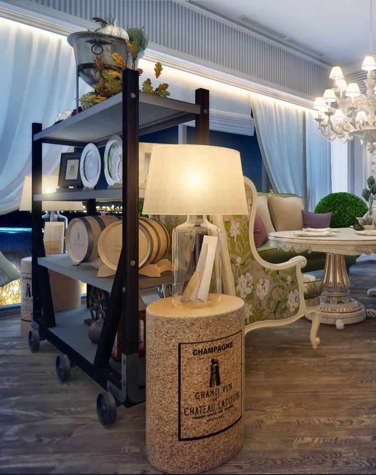 Ресторан <q> Maestro</q>: Ресторации в . Автор – Sweet Home Design, Эклектичный