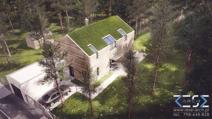 Дома в . Автор – RESE Architekci Biuro Projektowe