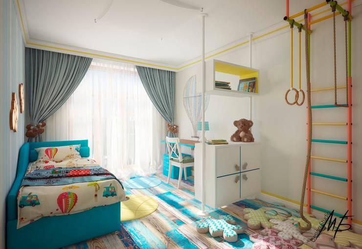 Сергиев Посад: Детские комнаты в . Автор – Студия Марии Боровской