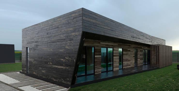 Wood House: Дома в . Автор – Мастерская Grynevich Dmitriy
