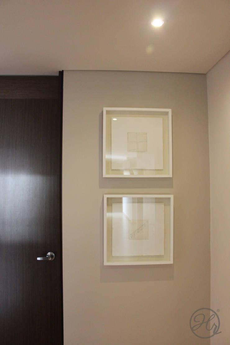 Apartamento 306: Pasillos y recibidores de estilo  por Home Reface - Diseño Interior CDMX