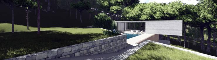 Casa JP:   por Helena Faria Arquitectura e Design