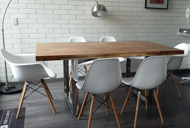 PROYECTO MOBILIARIO HOGAR. COMEDOR.: Comedor de estilo  por La Carpinteria - Mobiliario Comercial