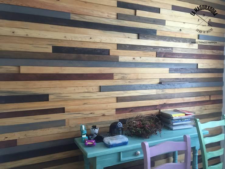 جدران تنفيذ La Maquiladora / taller de ideas