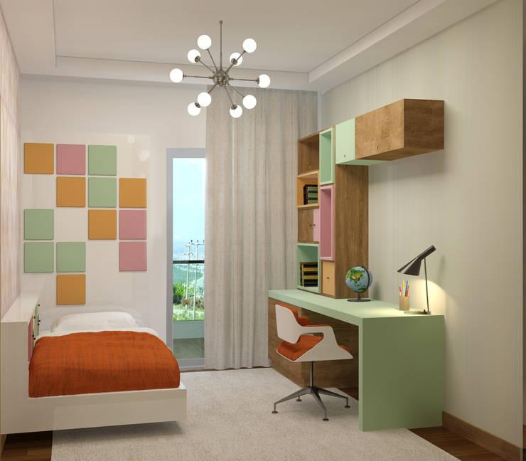 RUBA Tasarım – Antalya Panorama Evleri:  tarz Çocuk Odası