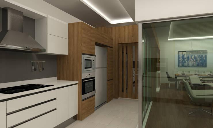 RUBA Tasarım – Antalya Panorama Evleri:  tarz Mutfak