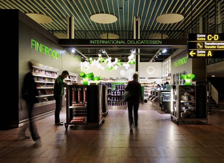 Fine Food:  Vliegvelden door MennOntwerpt