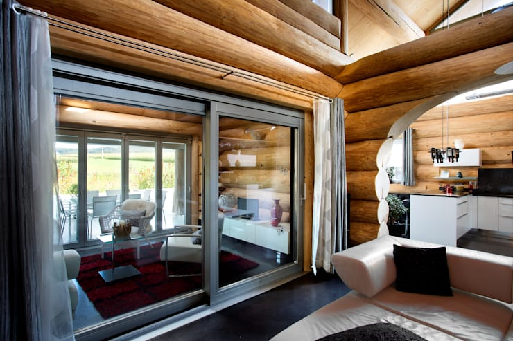 หน้าต่าง by Kneer GmbH, Fenster und Türen
