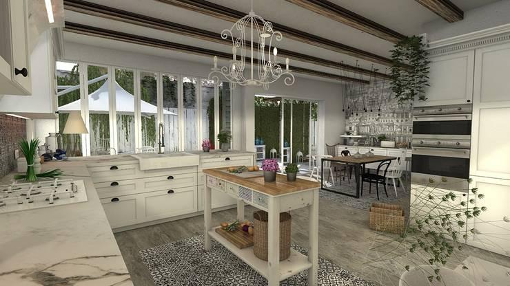 Cocinas de estilo  por Blophome