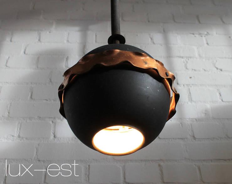 Nero Bar Lampe Kupfer Design Pendel Restaurant Laden Vintage Von