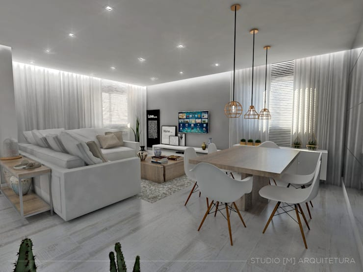غرفة السفرة تنفيذ Studio M Arquitetura