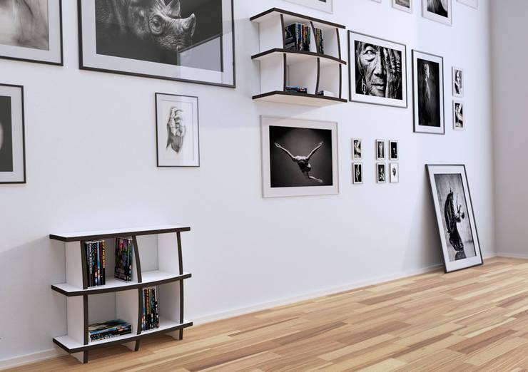 modern Living room by form.bar