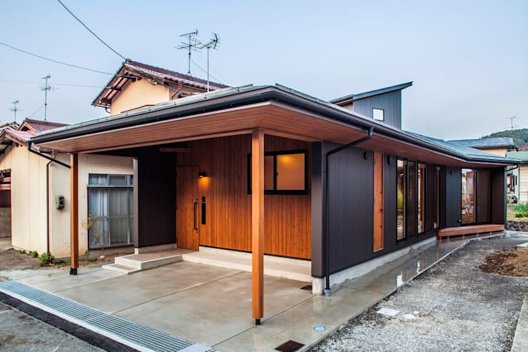浅野翼建築設計室의  주택