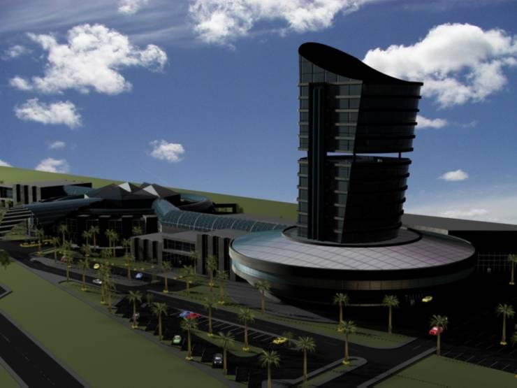 centro comercial datil:  de estilo  por medina&asociados