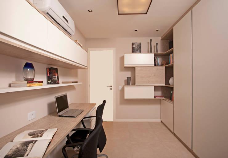 مكتب عمل أو دراسة تنفيذ Andréa Spelzon Interiores