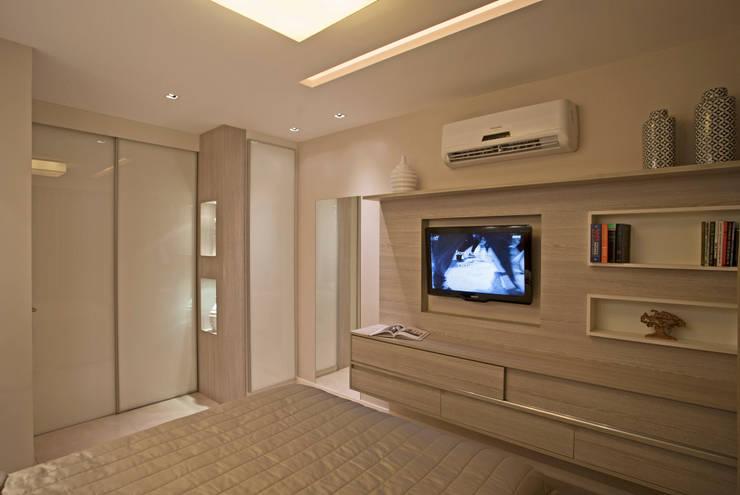 Kamar Tidur oleh Andréa Spelzon Interiores, Modern