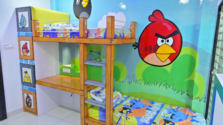 Nursery/kid's room by Shadab Anwari & Associates.,