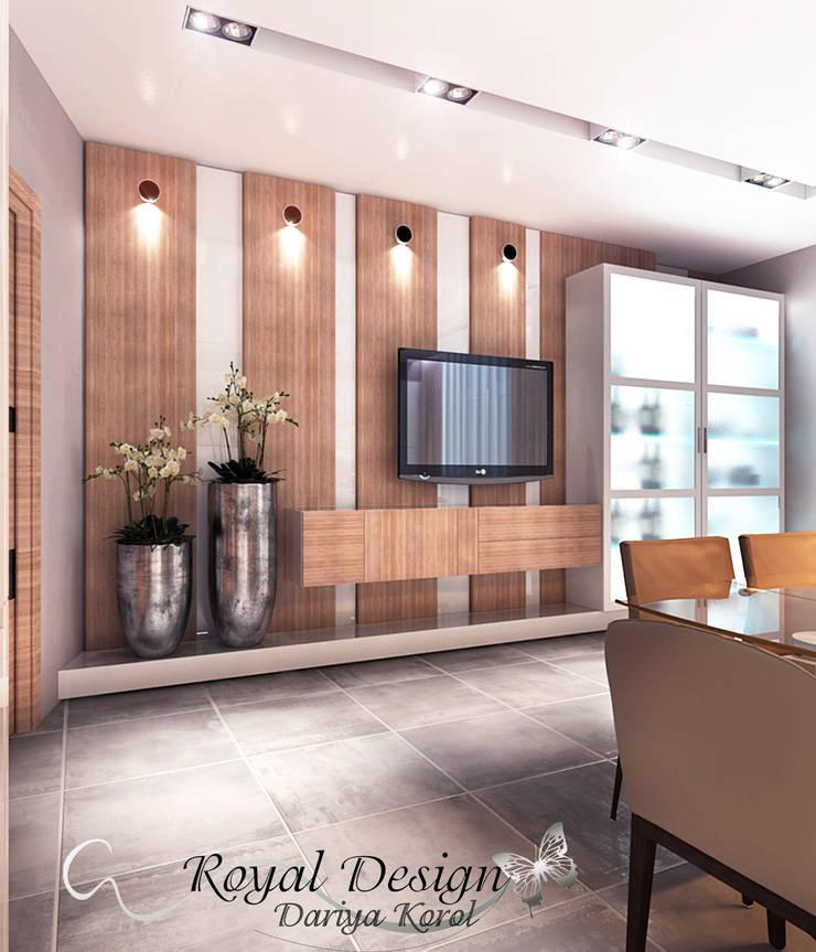 Cooking for a large family: Кухни в . Автор – Your royal design,