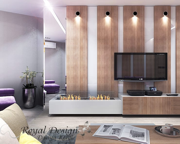 Living room by Your royal design, Modern