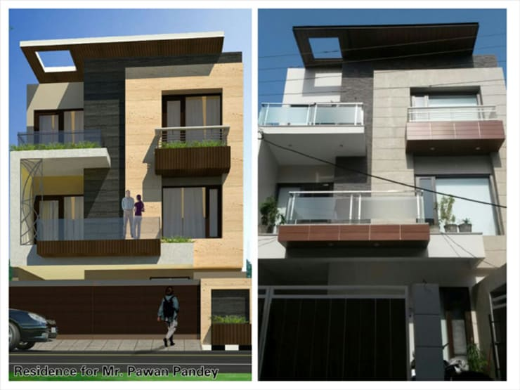 Residential projects:  Houses by Ingenious,Modern