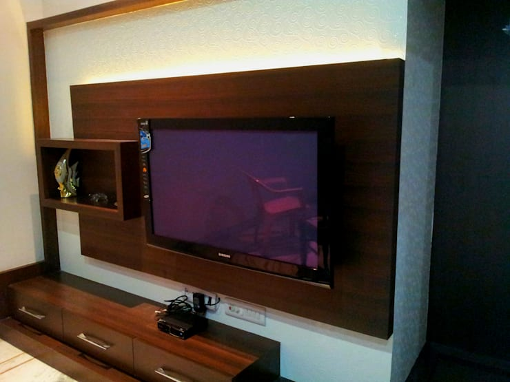 Residential interiors:  Media room by Ingenious