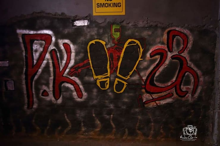 PK TUNN RESTOBAR,LUDHIANA:  Corridor & hallway by Ingenious,Industrial