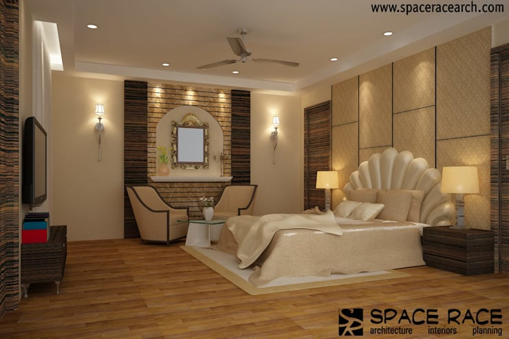 Bedroom by Spacerace