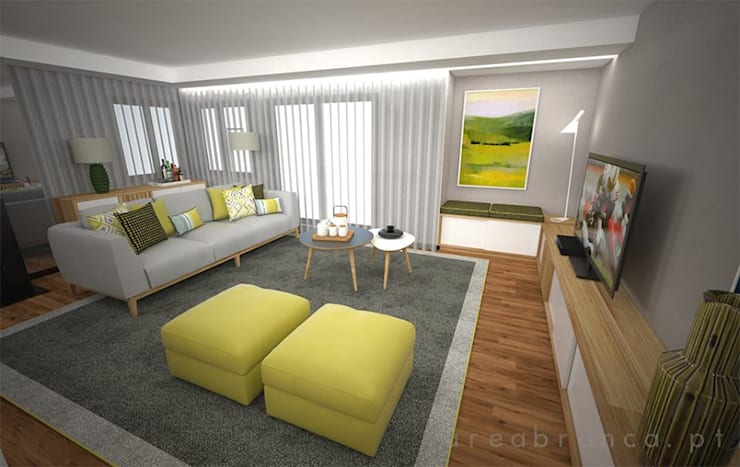 Living room by Areabranca