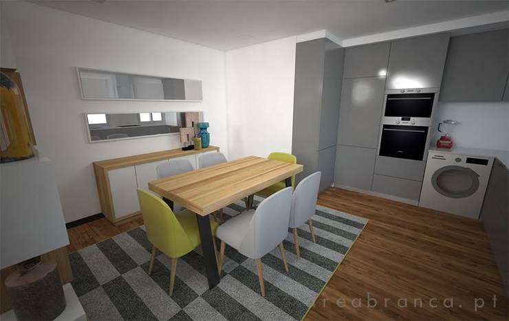 Sala e Cozinha DA: Cozinhas  por Areabranca