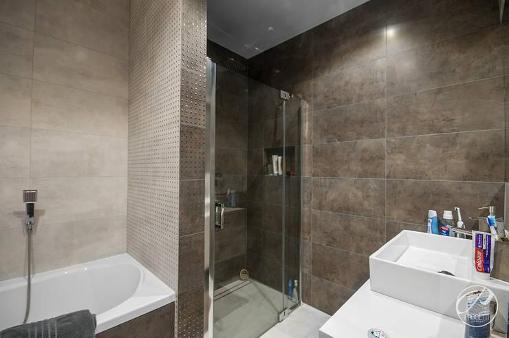 Baños de estilo moderno de Progetti Architektura Moderno